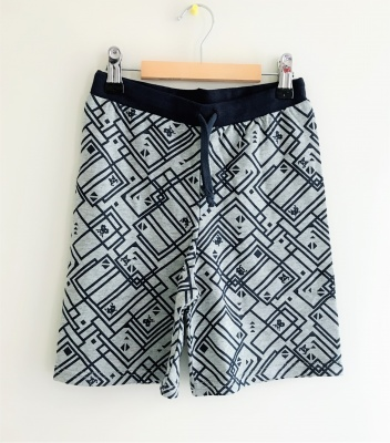 183004 boys knit shorts - pattern