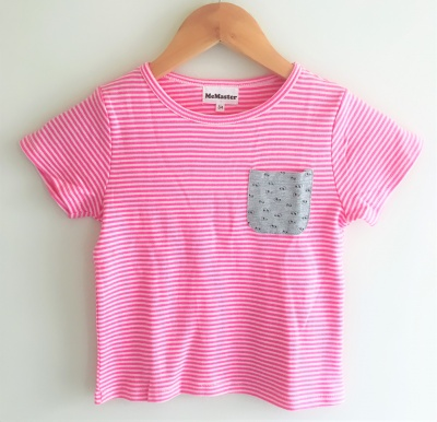 183002 boys short sleeve tee - strips