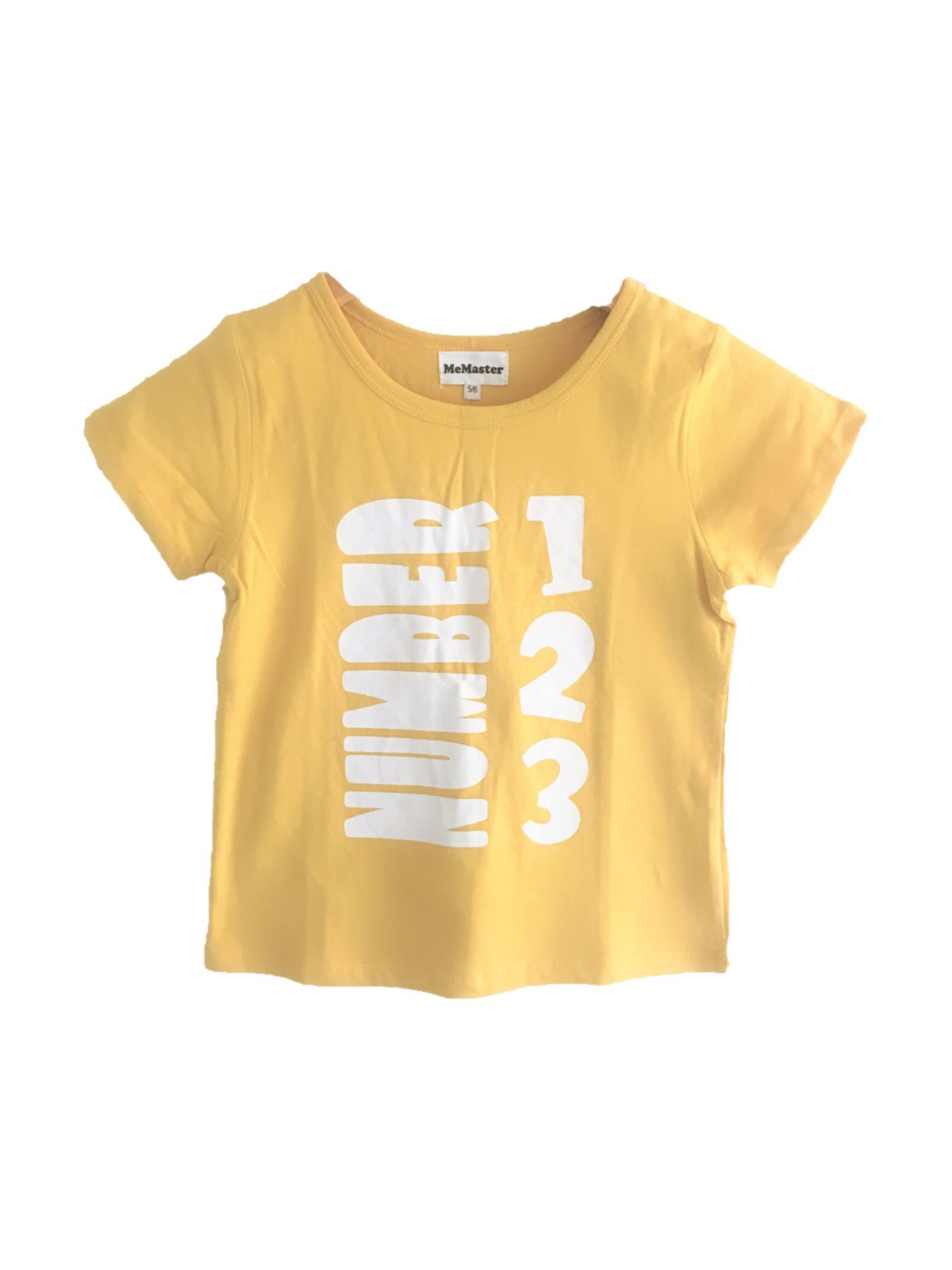 183003 boys short sleeve tee - yellow