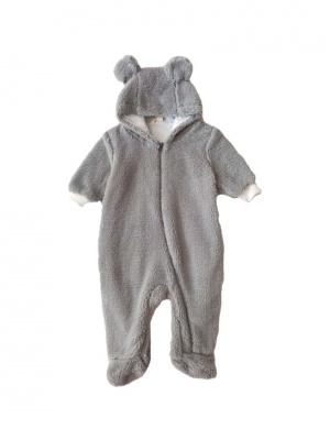 BABY BEAR FLEECE BODYSUIT