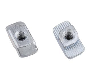 T型槽口螺母系列 2D09.AA.01(槽10)/ 2D10.AA.01 (槽8)