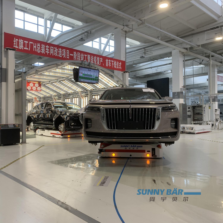 基于AGV(Automated Guided Vehicle)应用的柔性智能制造生产线