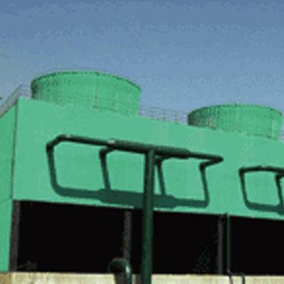 工业型组合砼结构逆流方型中空塔