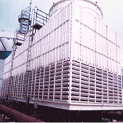 工业型组合钢结构逆流方型中空塔