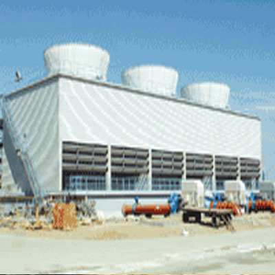 工业组合砼结构逆流方塔