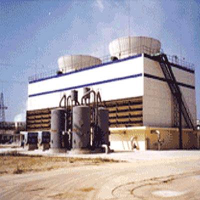 工业型组合钢结构逆流方塔