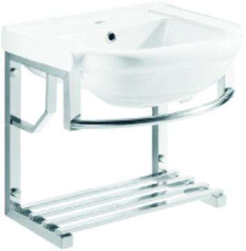 51-09072 不锈钢支架盆