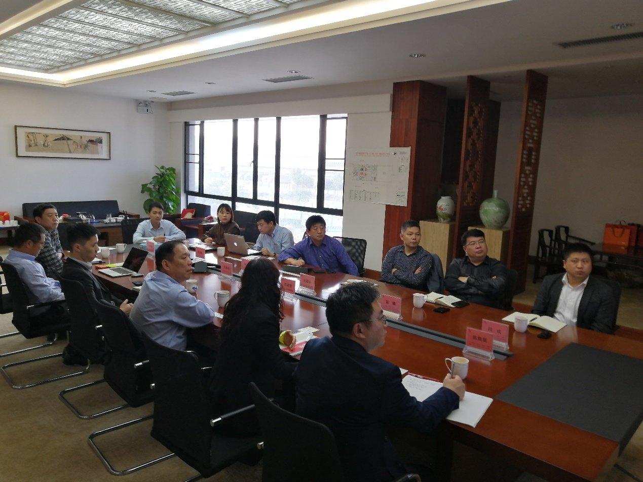 泛亚快讯:中国化学领导来集团访问