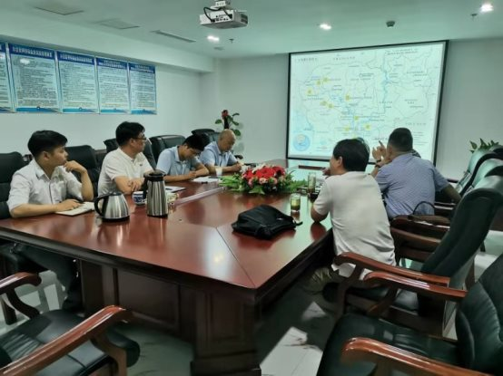 """诚信相约,携手并进  """"柬埔寨促进稻谷生产和大米出口项目""""领导应邀来我公司参观交流"""