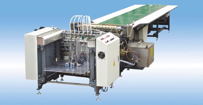 Automatic Gluing Machine(feeder by Feida)
