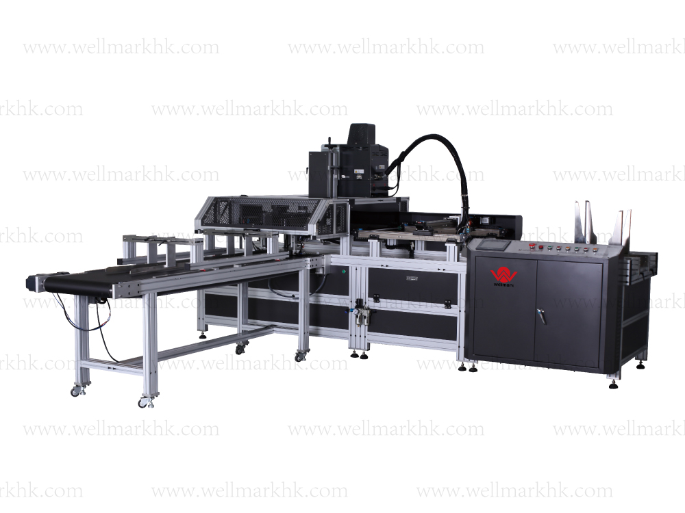 Automatic Book-Type Box Assembly Machine
