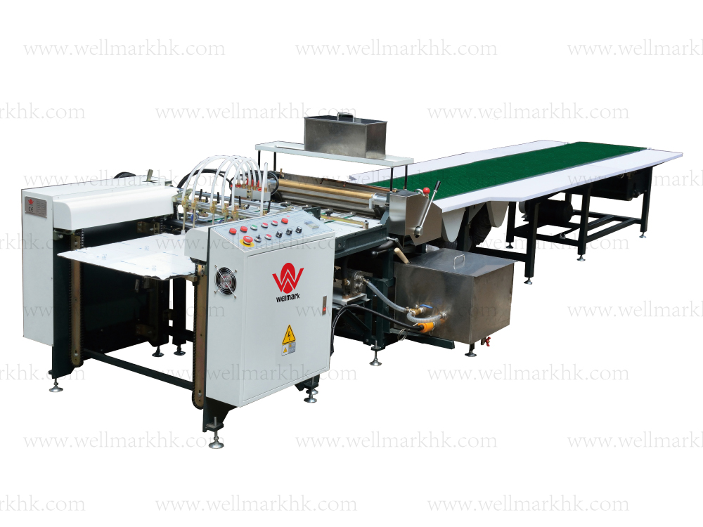 Automatic Gluing Machine(feeding paper by feeder)