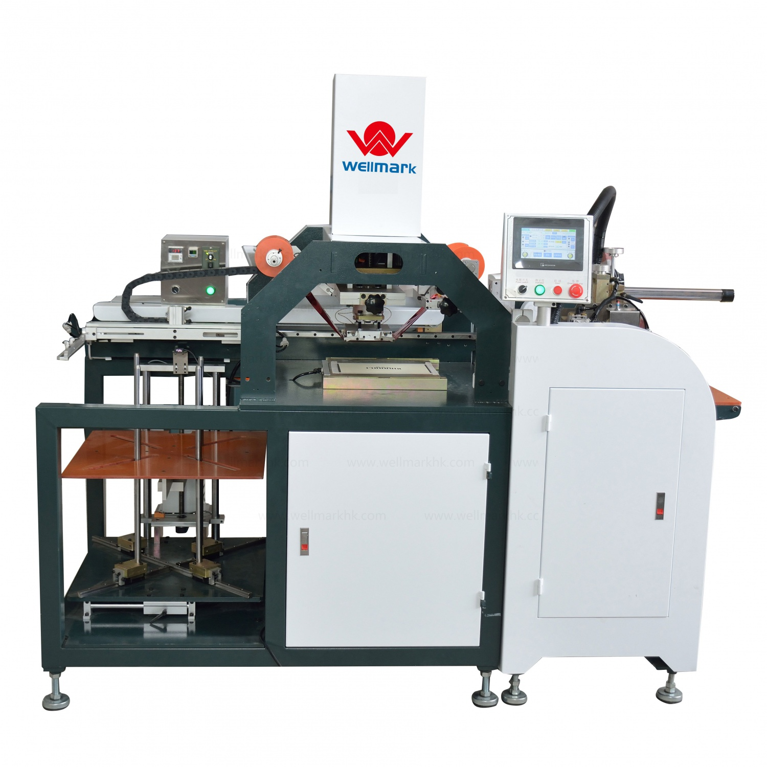Automatic Hot Stamping Machine(feeding paper by feeder)
