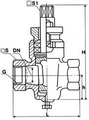 二通内螺不锈钢旋塞阀X13W
