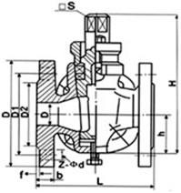 三通铜芯旋塞阀 X44T