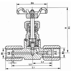 针型阀 JJM1