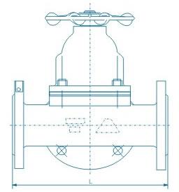 三通隔膜阀 G49W/J
