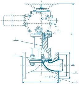 电动隔膜阀 EG941