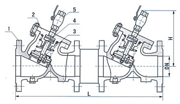 防污隔断阀 HS41X