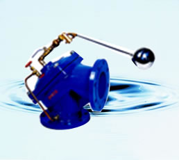 定水位阀 100A角型