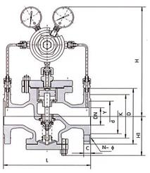 气体减压阀 YK43X/F