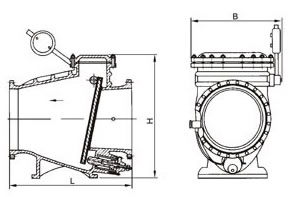 微阻缓闭消声止回阀 HH44X/H/W/T/Y