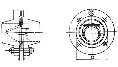 薄型止回阀 H74X/H/W