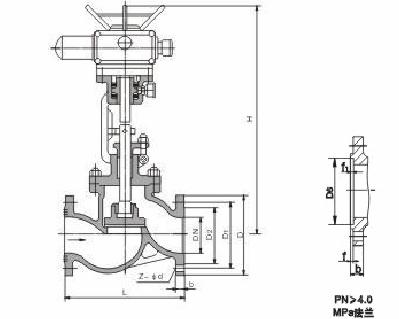 电动截止阀 J941H/W