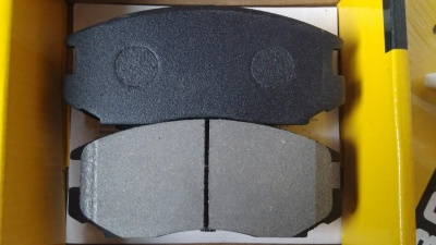 D602 7482 MITSUBISHI MIRAGE CERAMIC FRONT DISC BRAKE PADS