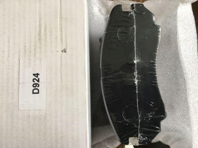 D924 7825 HYUNDAI ELANTRA KIA OPTIMA FRONT BRAKE PAD