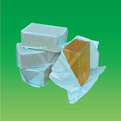 Application of pressure sensitive adhesive