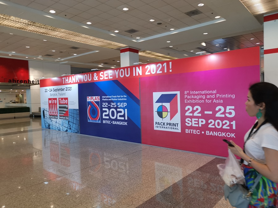In Sep.2019, Wellmark Participated Pack Print 2019 in Thailand and the Exhibition Ended Successfully