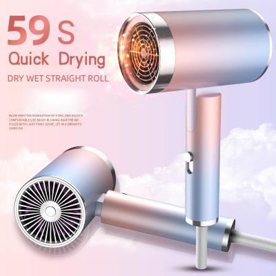 Portable Folding Hair Dryer, 900W/1300W Blowdryer for Home Travel Blow Dryer
