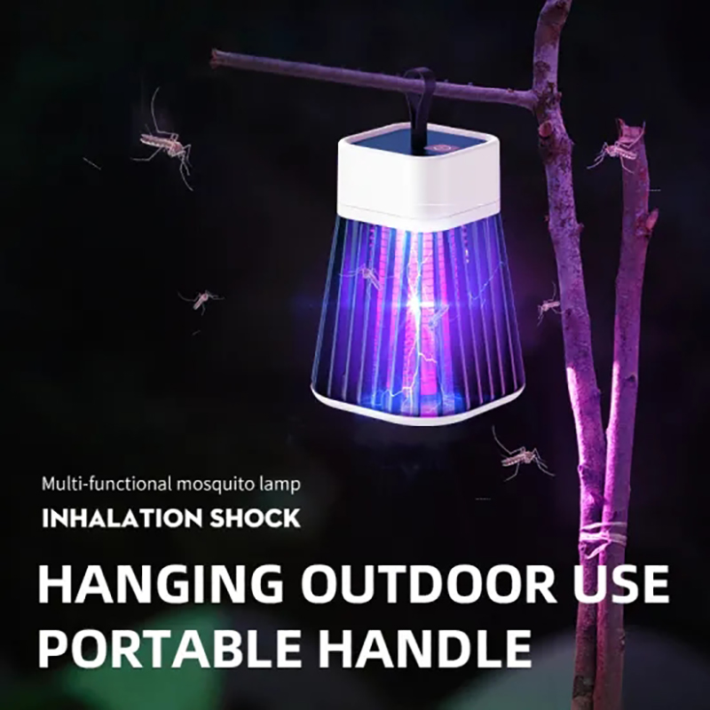 2021 New Portable Rechargeable Mosquito Killer Lamp Insect Trap Lamp