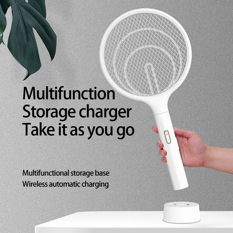 3 in 1 Electric Mosquito Swatter Racket and Zapper Racket Mosquito Killer Lamp