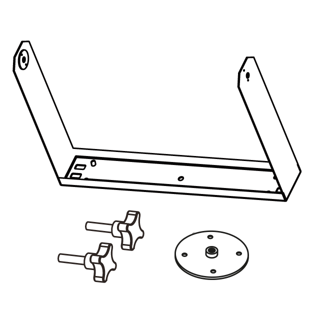 Horizontal bracket for EX10