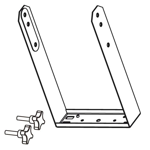 Vertical bracket for EX26
