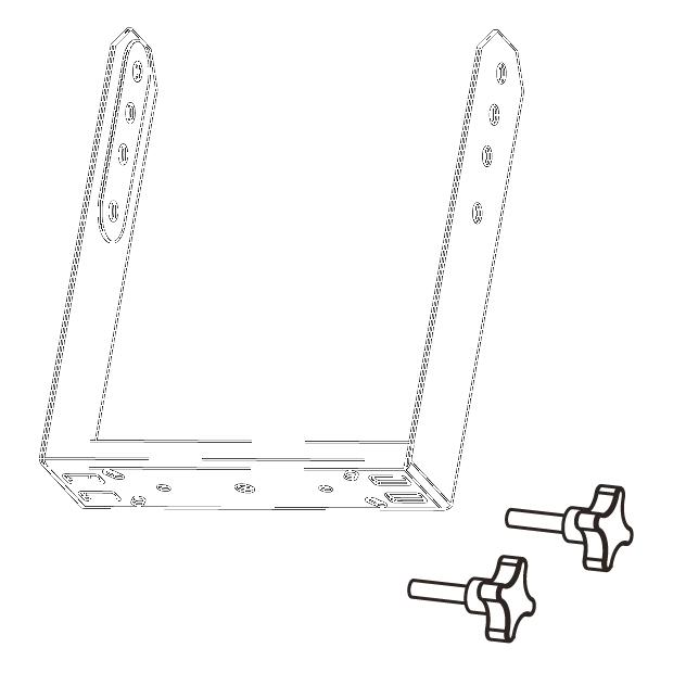 Vertical bracket for EX6