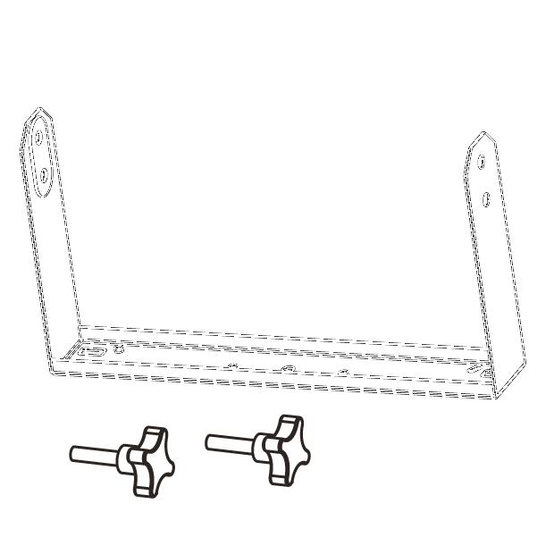 Horizontal bracket for EX6