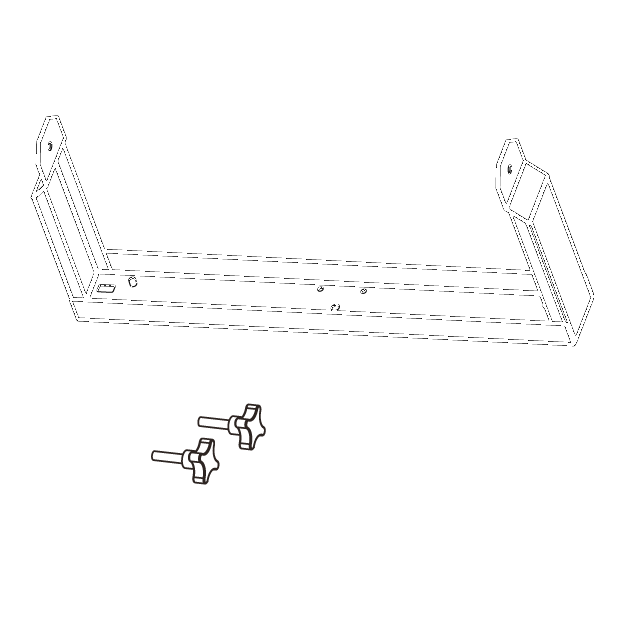 Horizontal bracket for ESD12