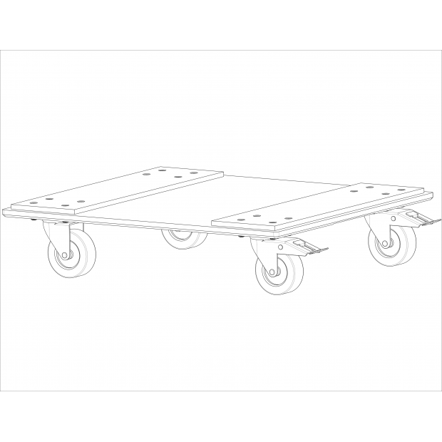 Front mount magnetic cart