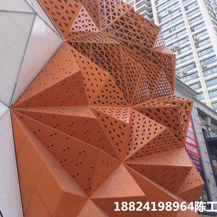 使用广东铝单板品牌装饰外墙,打造出满屏的艺术感建筑风格