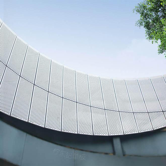 为什么越来越多人采用广东铝单板作为墙面装饰?