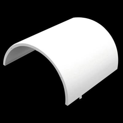 广东白色双曲铝单板厂氟碳铝单板厂家冲孔铝单板厂家追自由建材