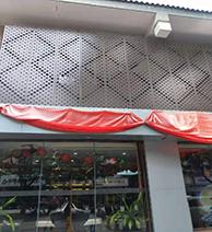 广东追自由双曲铝单板厂家铝幕墙氟碳铝单板