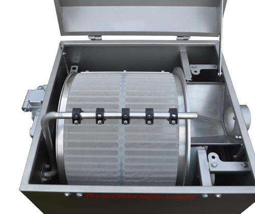 316L小型滚筒微滤机