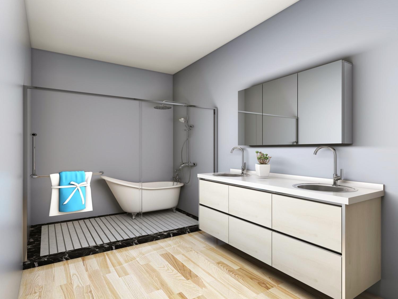 洗浴柜经典案例7
