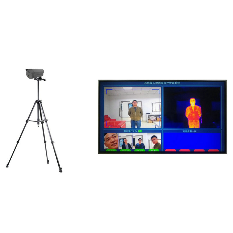 thermal imaging temperature measuring camera can connect with computer and TV