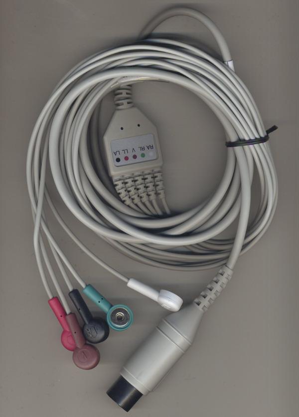 5导心电导联线-美标