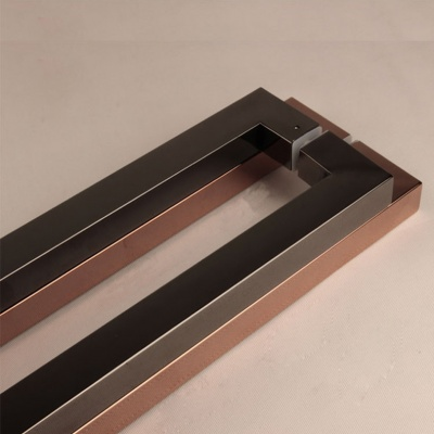 Plated handle